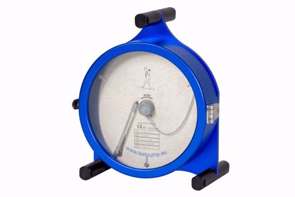 Afbeelding van 0-16 Bar, 1 uur , Ø 225mm. Schrijvende Manometer, 1%