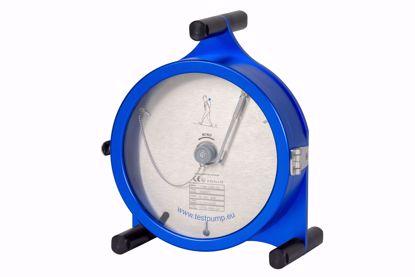 Afbeelding van 0-250 Bar, 1 uur , Ø 225mm. Schrijvende Manometer, 1%