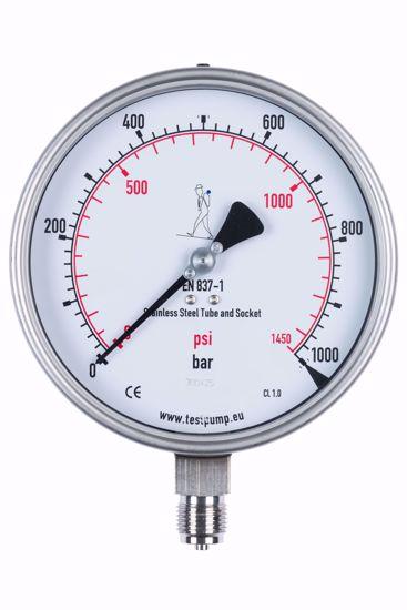 Picture of 0-1000 Bar Pressure Gauge, Ø150mm, 1%
