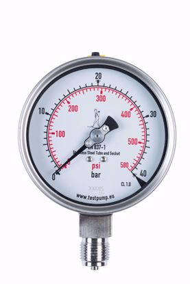 Picture of 0-40 Bar Pressure Gauge, Ø100mm, 1%