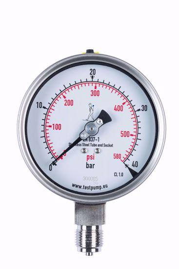 Picture of 0-40 Bar Pressure Gauge, Ø100mm, 1%