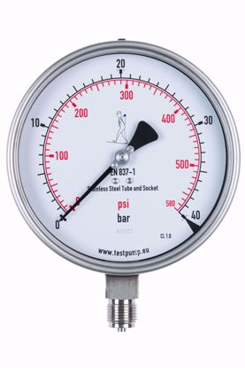 Picture of 0-40 Bar Pressure Gauge, Ø150mm, 1%
