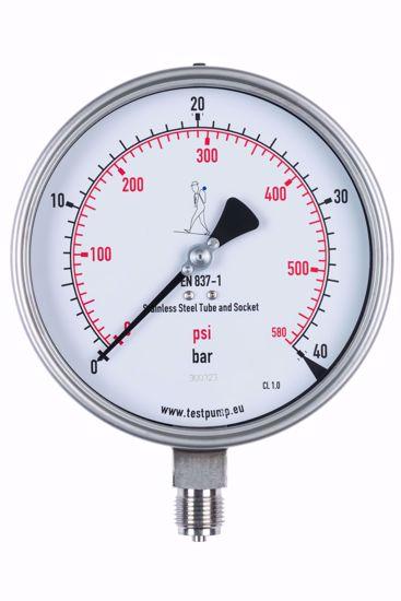 Picture of 0-40 Bar Pressure Gauge, Ø150mm, 1%