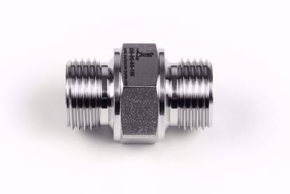 "Picture of Double Nipple 1/2"" BSP Male, 60 degree cone"