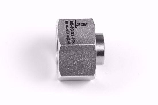 """Afbeelding van Einddop 1/2"""" BSP met 60 graden conus en o-ring"""