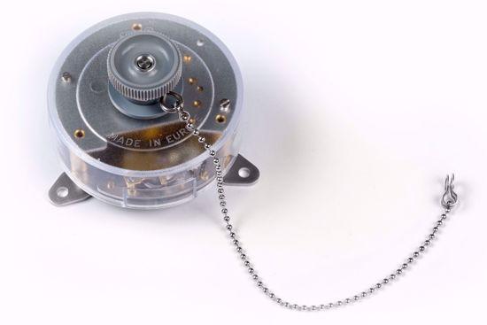 Afbeelding van Mechanische klok voor schrijvende meter - 24 uur